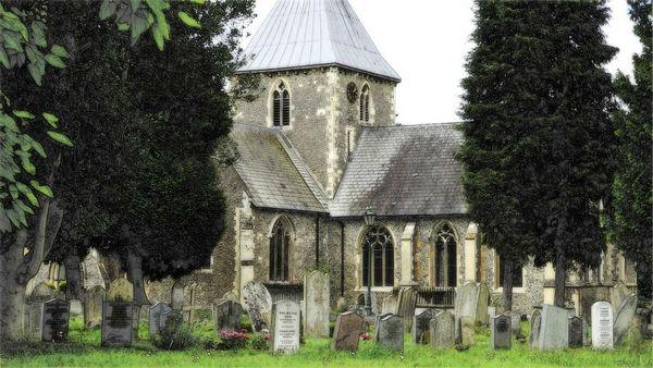 Kerk Begraafplaats Klein